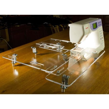 Large Sewing Extension Table on Janome MC 4900