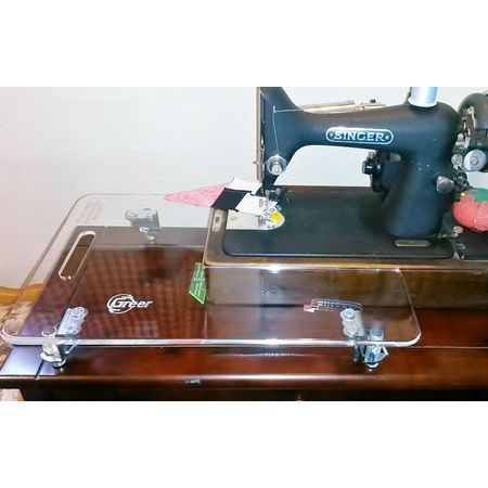 Feather Mate Extension Table on 99k Machine
