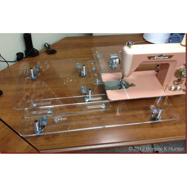 Adjustable Sewing Machine Extension Table